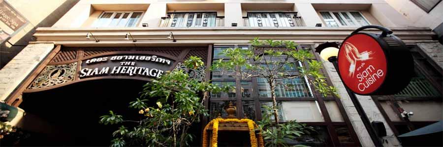 Siam Heritage Boutique Suites © The Siam Heritage Hotel