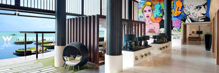 W Hotel Samui © Marriott International Inc